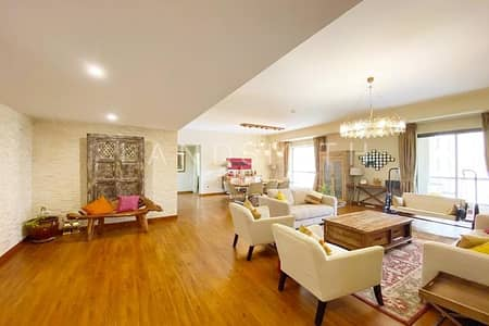 4 Bedroom Flat for Sale in Jumeirah Beach Residence (JBR), Dubai - Exclusive Huge 4BR Big Apt in Rimal 5 | Vacant on transfer