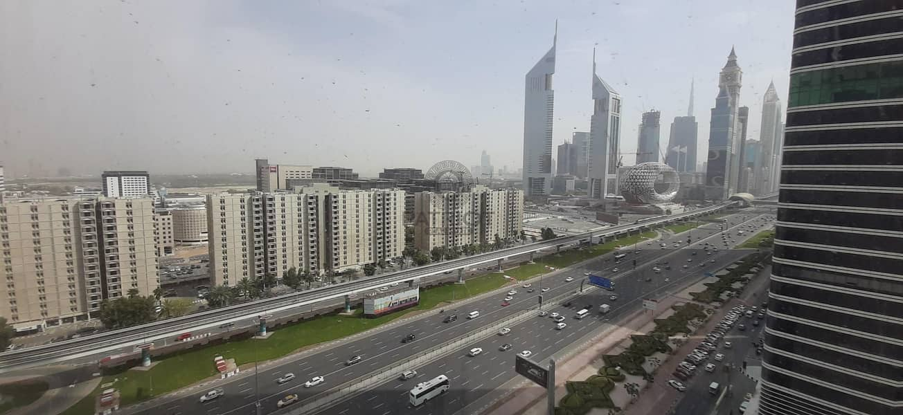 86 Chiller Free|Fitted Office| SZR & Sea Views
