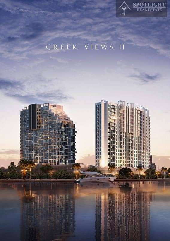 BRAND NEW LAUNCH - CREEK VIEW APARTMENTS STARTING AT 398K! FANTASTIC PAYMENT PLAN!