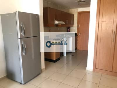 Studio for Rent in Jumeirah Village Circle (JVC), Dubai - STAYSAFE | BEST PRICE ONLY 26K IN 2 CHQS | ROAD VIEW | HUGE FURNISHED STUDIO APT. | CALL NOW