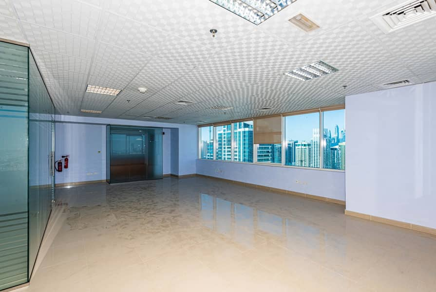 2 Well Maintained Fitted Office for Rent - JLT