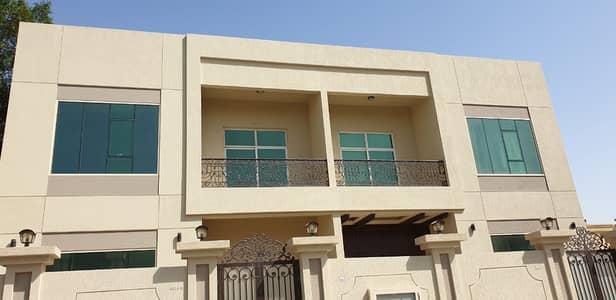 5 Bedroom Villa for Rent in Al Heerah Suburb, Sharjah - Prestigious Brand New 5-Br Villa with Solar System
