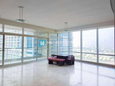 2 Bedroom Apartment for Rent in Jumeirah Lake Towers (JLT), Dubai - Bright and Spacious 2 Beds | Near Park and Metro