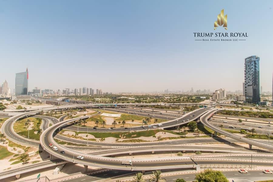 Semi Upgraded | 1Br+Study | EMAAR Six Towers