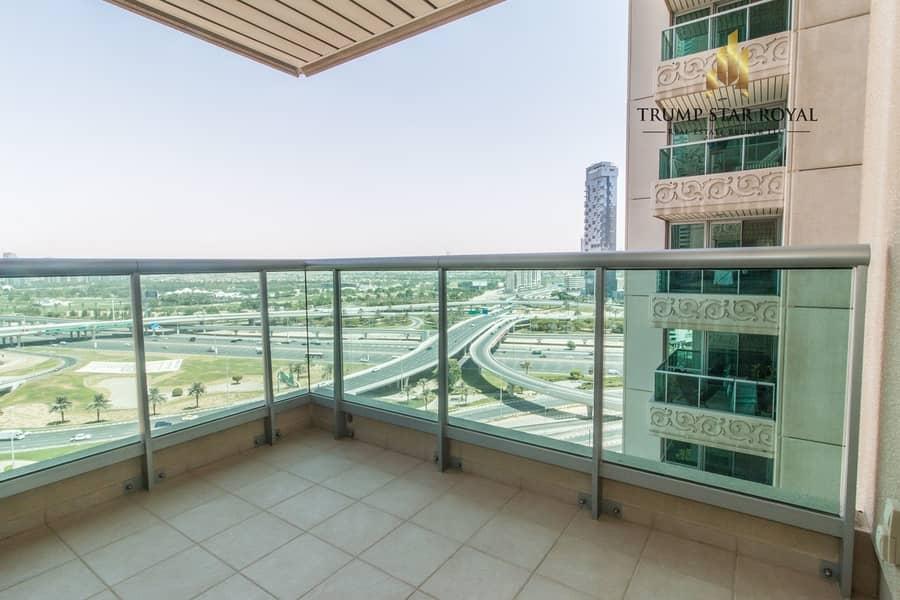 16 Semi Upgraded | 1Br+Study | EMAAR Six Towers