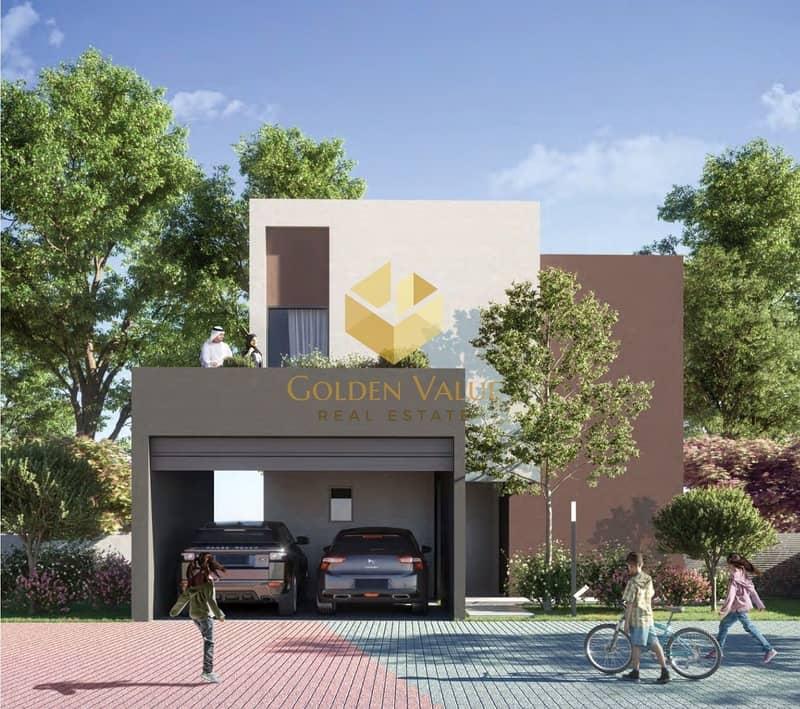 own your luxury villa 2 bedroom in aljada