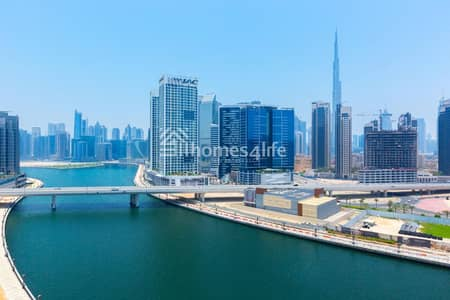 2 Bedroom Apartment for Rent in Business Bay, Dubai - Multiple Chqs + storage room + maids room   New tower