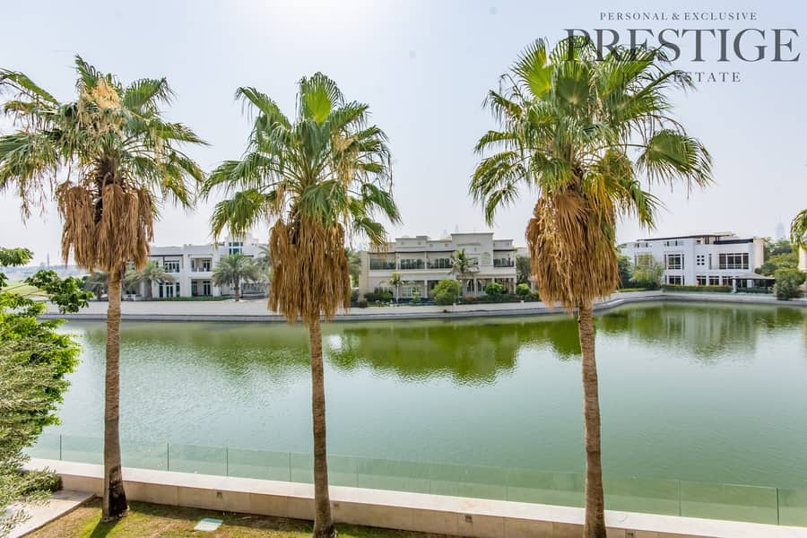 17 6 Bed | Emirates Hills | Villa with Cinema | Full lake view