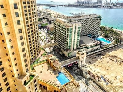 شقة 3 غرف نوم للايجار في جميرا بيتش ريزيدنس، دبي - Full Sea View |3 Bedroom+Maidroom | JBR Beach
