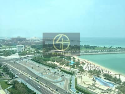 3 Bedroom Apartment for Rent in Corniche Area, Abu Dhabi - Breathtakingly Awesome 3BR Apartment - Sea View