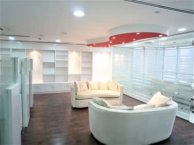 Office for Rent in Jumeirah Lake Towers (JLT), Dubai - Furnished office I lake view I 13 months contract