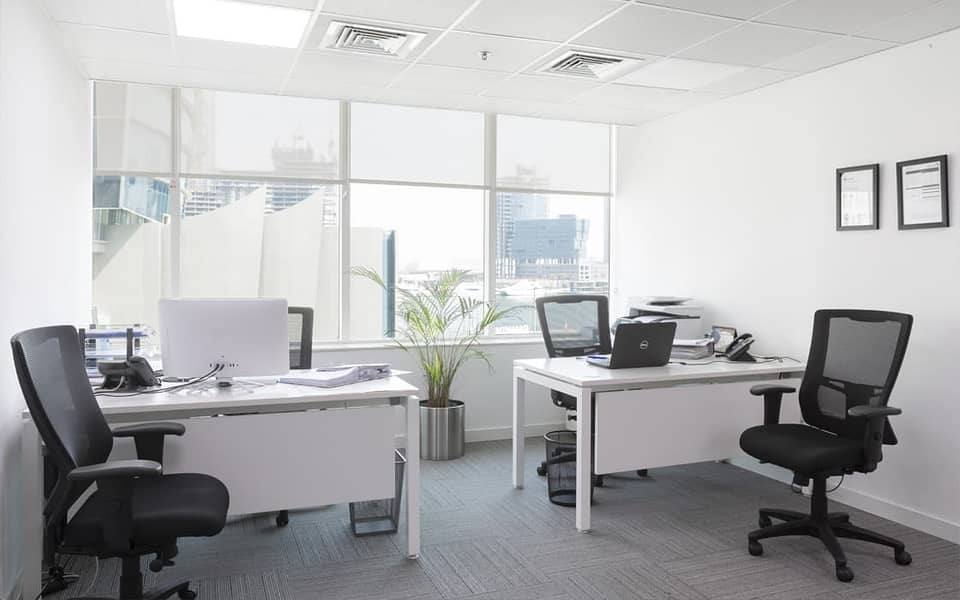 Independent Office/Meeting Room/Free Dewa/Free Internet/2-3 Cheque payment