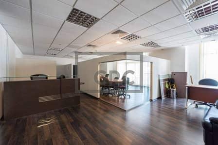 مکتب  للبيع في أبراج بحيرات الجميرا، دبي - Fully Fitted|Mid floor|Close to metro
