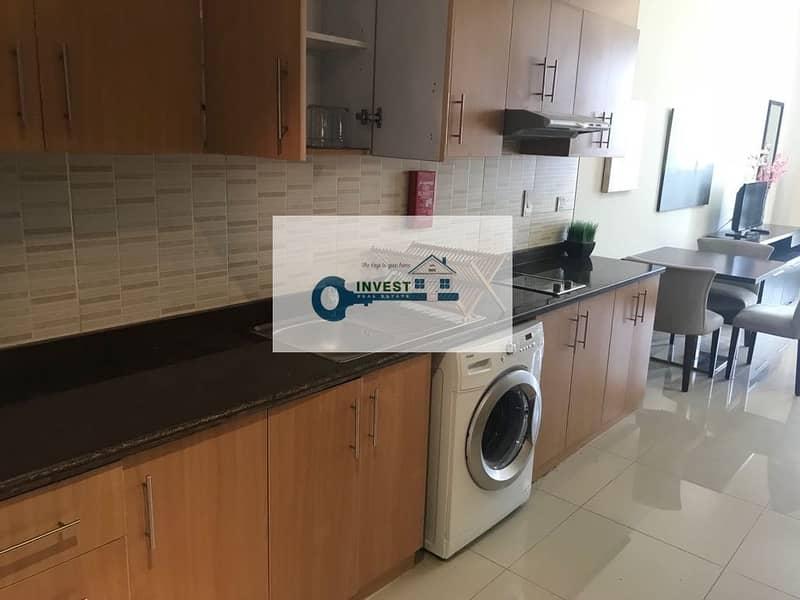 2 BEST PRICE | ONLY 30K IN 4 CHEQS | HUGE FURNISHED STUDIO APT. MODERN LAYOUT | CALL NOW
