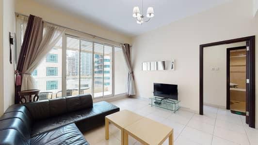 شقة 1 غرفة نوم للايجار في دبي مارينا، دبي - Furnished | City views | Flexible payments