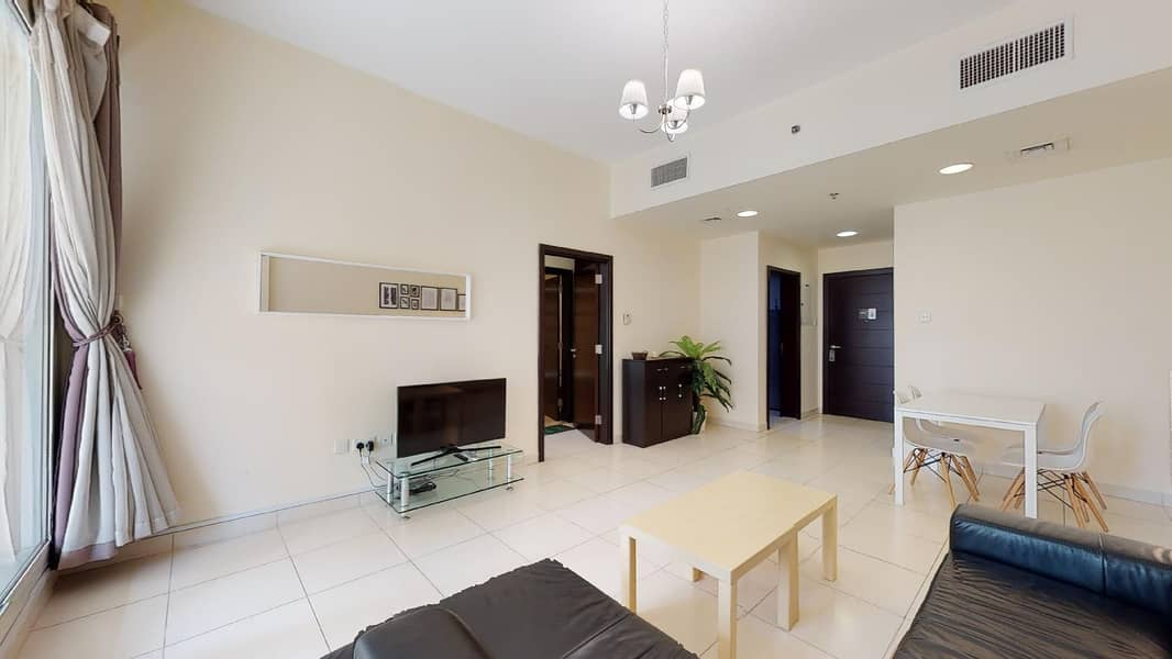2 Furnished | City views | Flexible payments