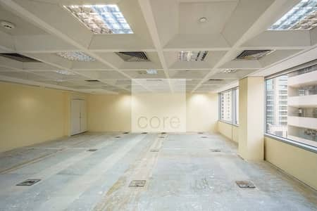 Office for Rent in Deira, Dubai - Fitted and Partitioned Office | Mid Floor