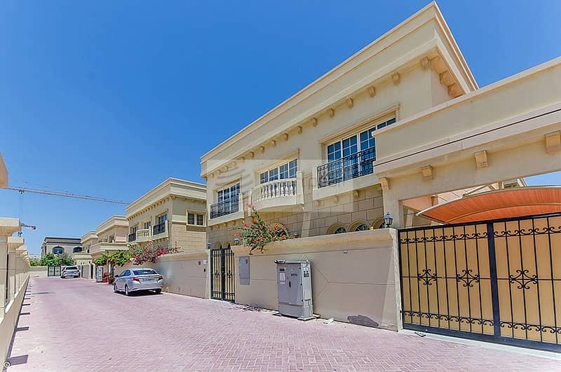 2 5 BR Duplex Villa  With 2month Free and 4 Cheques