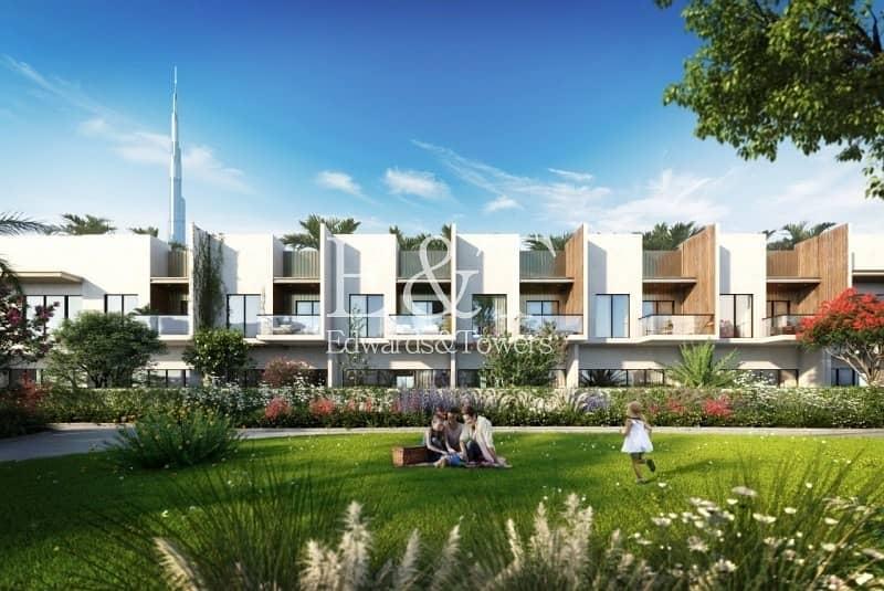 Best Investment in Meydan Modern 2BR+Maids Townhouse
