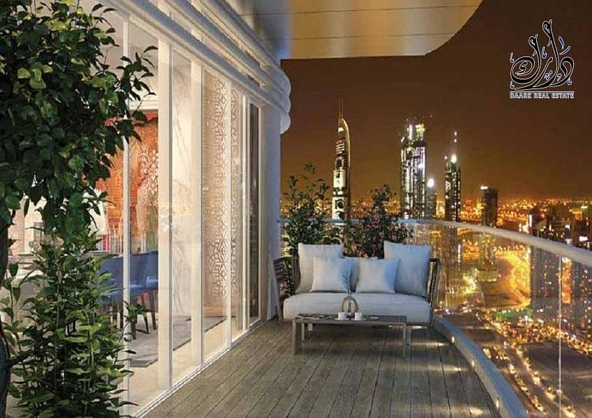 Own your apartment in Burj Khalifa road  in Town and Town