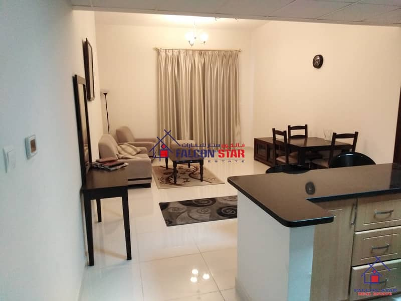 BEST PRICE DEAL | BIG LAYOUT | FULLY FURNISHED 1 BEDROOM | HUGE BALCONY |