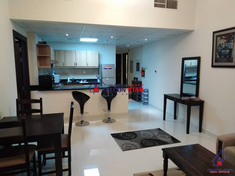 2 BEST PRICE DEAL | BIG LAYOUT | FULLY FURNISHED 1 BEDROOM | HUGE BALCONY |