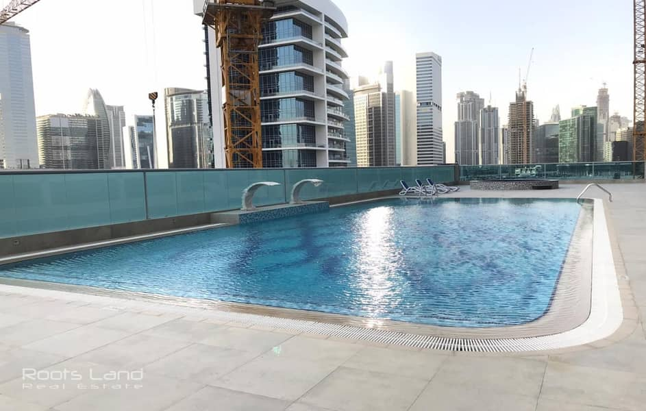 11 Upgraded Brand New Fully Furnished 4 BR Apt With Burj Khalifa and Canal View
