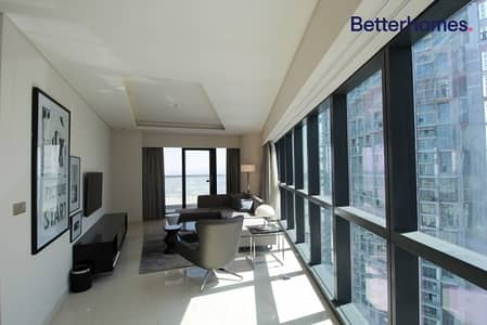 2 Bedroom Apartment for Rent in Business Bay, Dubai - Fully Furnished | 2 Bedroom | Pool View