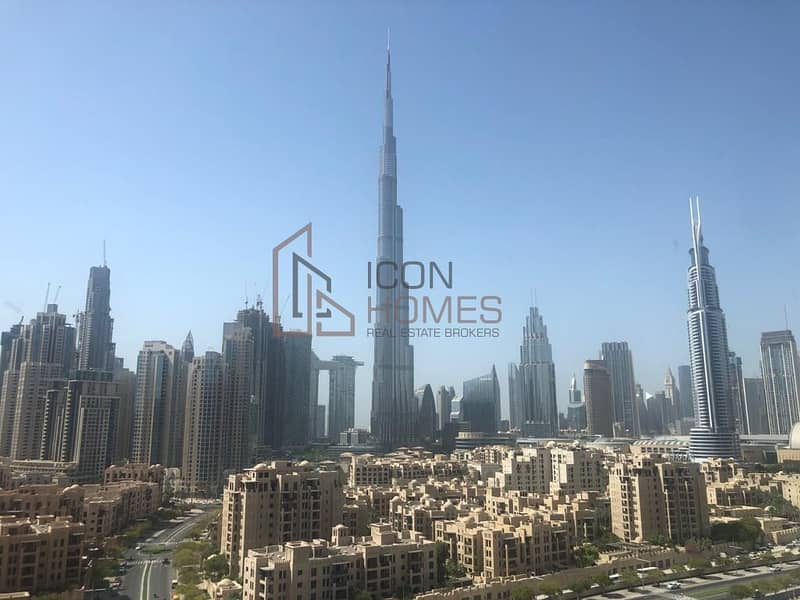17 Spacious & Luxurious 2br | Fully Furnished | Burj Khalifa View