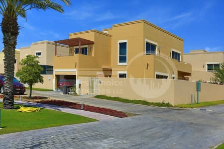 4 Bedroom Villa for Sale in Al Raha Gardens, Abu Dhabi - Type A Villa With Private Swimming Pool.
