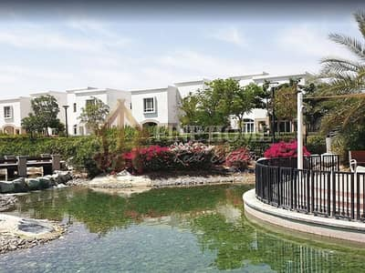 3 Bedroom Villa for Sale in Al Ghadeer, Abu Dhabi - Luxurious Villa in front of Waterfall Clubhouse