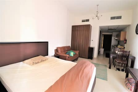 استوديو  للبيع في مدينة دبي الرياضية، دبي - Fully furnished Apartment | Full Golf Course View |