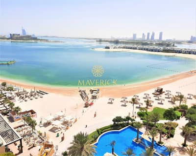 4 Bedroom Penthouse for Rent in Palm Jumeirah, Dubai - Sea View 4BR | Chiller+Beach Access Free