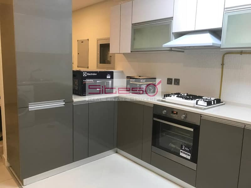 2 Furnished 2BH + maids / Courtyard view /4 cheques