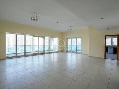 بنتهاوس 3 غرف نوم للايجار في دبي مارينا، دبي - PENTHOUSE | Large Layout | Chiller Free