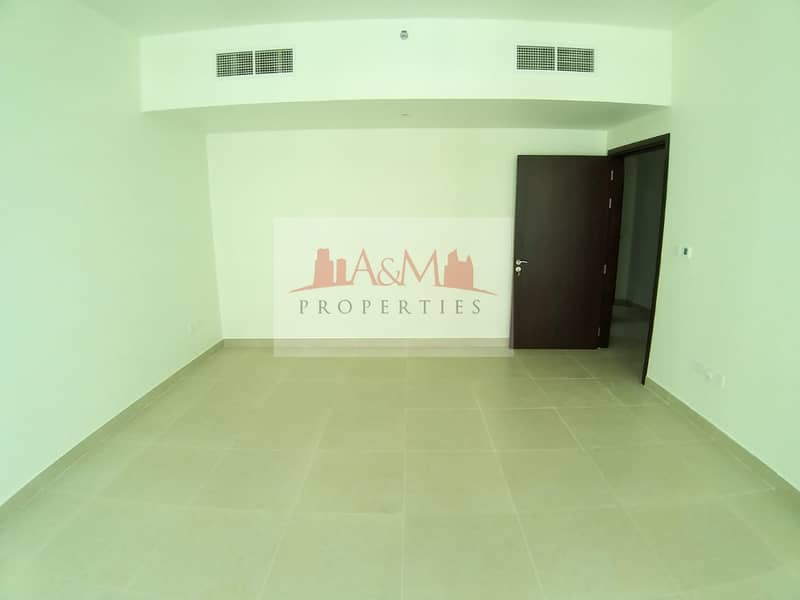 2 BRAND NEW.: Two Bedroom Apartment with Basement parking at Khalifa Street for AED 60,000 Only.!!