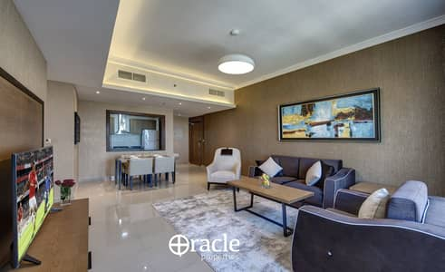 2 Bedroom Hotel Apartment for Rent in Barsha Heights (Tecom), Dubai - Sea View Fully furnished 2 BR / ALL INCLUDED
