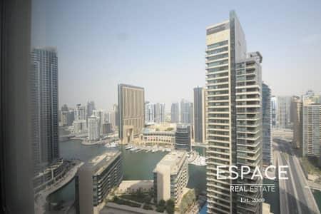 شقة 2 غرفة نوم للايجار في جميرا بيتش ريزيدنس، دبي - Marina View   High Floor   Spacious Apartment