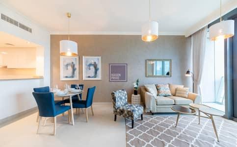 1 Bedroom Apartment for Rent in Downtown Dubai, Dubai - Chic 1BR Apt w/ Burj Khalifa view