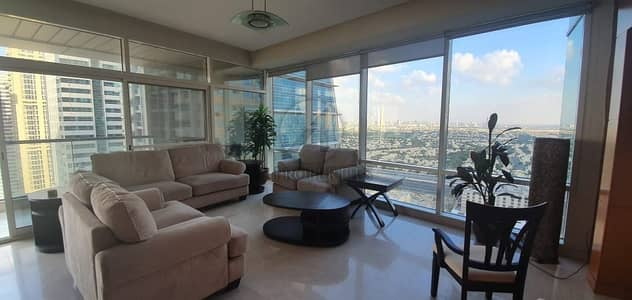2 Bedroom Apartment for Rent in Jumeirah Lake Towers (JLT), Dubai - Available from November. Spacious and Bright 2BR