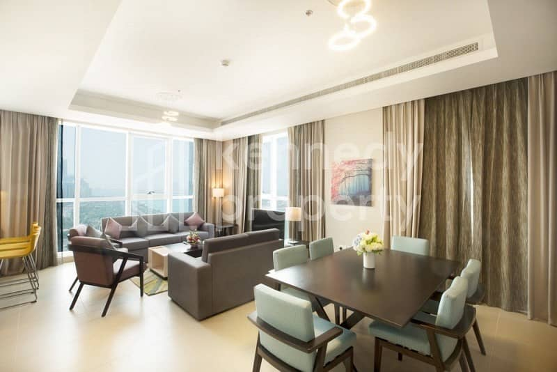 Easy to move-in fully furnished 1-bed on Corniche