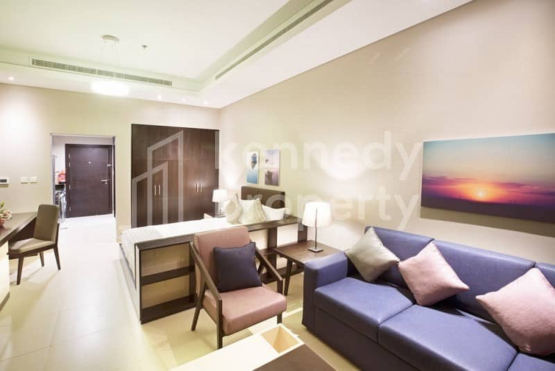 2 Easy to move-in fully furnished 1-bed on Corniche