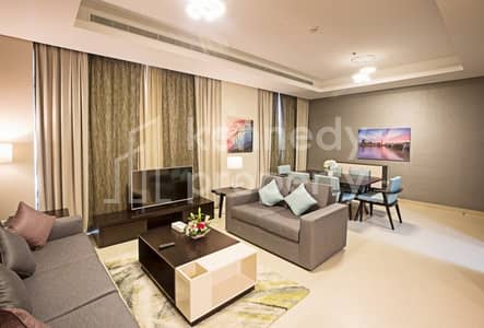 2 Bedroom Apartment for Rent in Corniche Area, Abu Dhabi - Easy to move-in fully furnished 2-bed on Corniche