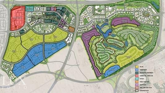 ارض سكنية  للبيع في دبي هيلز استيت، دبي - Full Golf Course 877 aed /sq ft only Negotiable