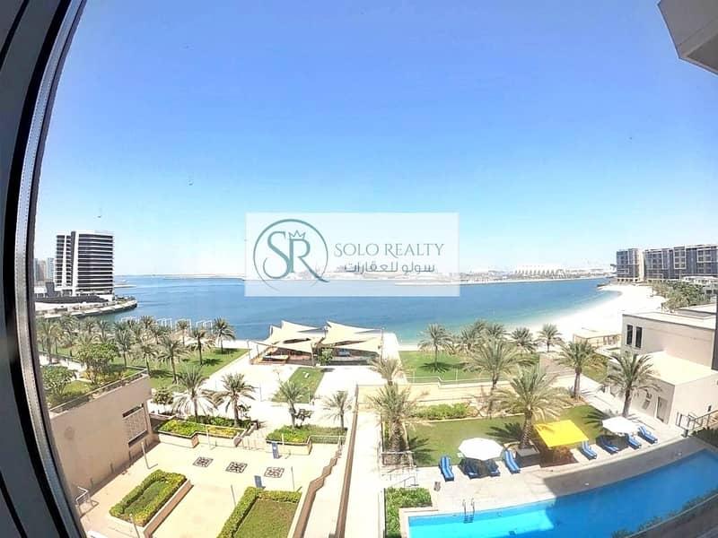PRESTIGIOUS DUPLEX !!! Elegant 4BR+Maid I Stunning  Balcony+Sea View I