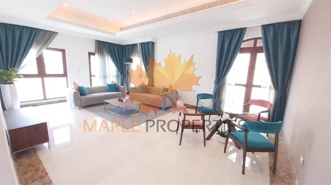 Hot Deal | 4BR+M Furnished Villa Sale | Pool & Garden| Golf View