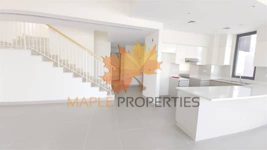 Spacious 4 BR+M Townhouse | For Rent | Maple Dubai Hills