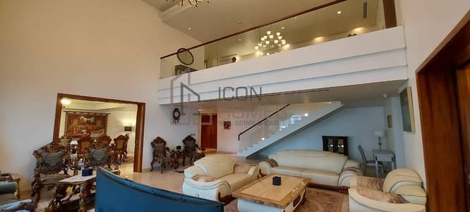 4 Bedroom Penthouse for Rent in Palm Jumeirah, Dubai - Stunning Penthouse| G+1 | Luxury Fully furnished