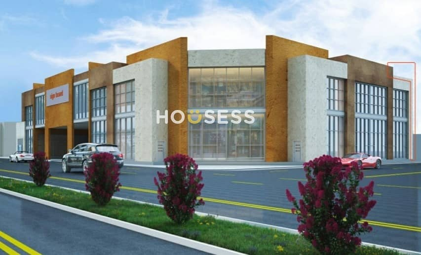 1 Shopping  Center | 16 shops G + Mezzanine | al tayy near al khawaneej 2