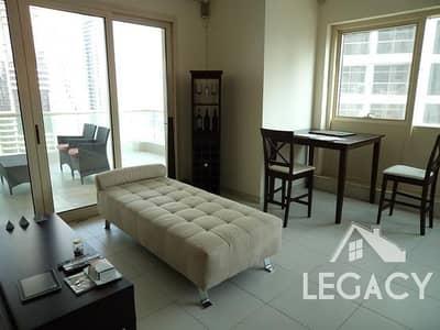 1 Bedroom Apartment for Rent in Dubai Marina, Dubai -  1 1/2 bath